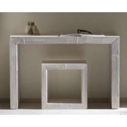 Tavolo George ovale bianco