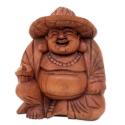 Happy Buddha con cappello h 20