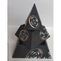 Piramide porta gioie 18x18