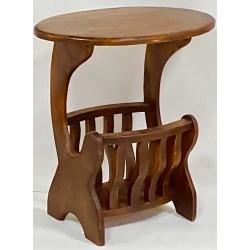 Tavolino Portariviste legno massiccio