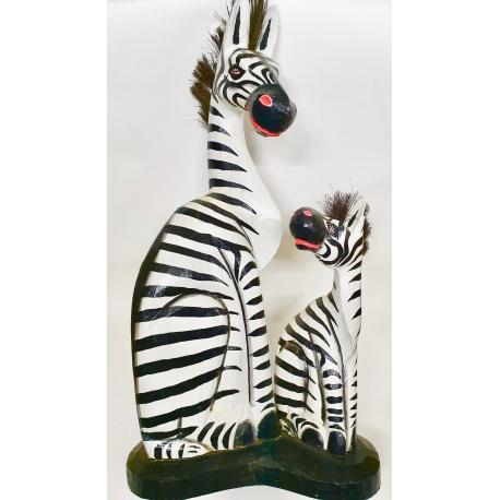 Zebra con piccolo