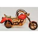 Harley in legno cm 55