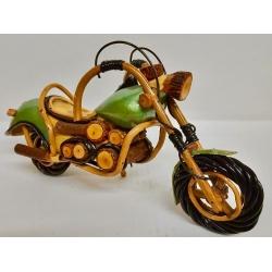 Harley in legno cm24