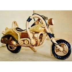 Harley in legno