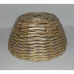 Lampadario vimini a cupola
