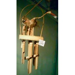 Wind Chimes Burgundy ucc dpp