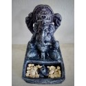 Ganesh brucia incensi