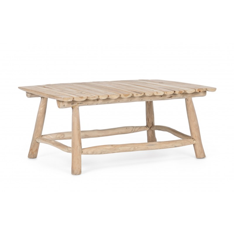 Tavolino Sahel Naturale 90 X 60 Arredo Giunco