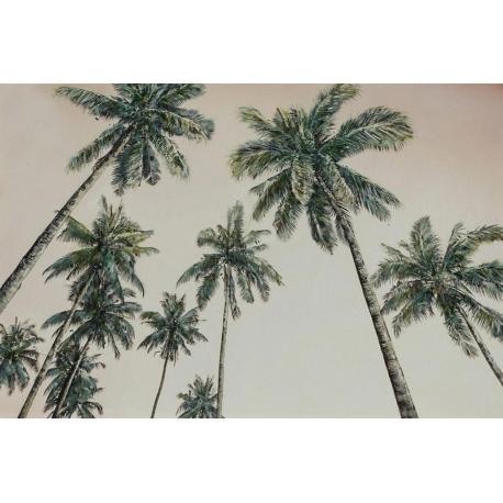 Quadro dipinto palme
