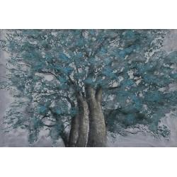 Quadro dipinto albero Gentong