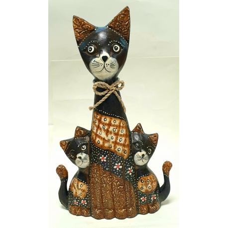 Famiglia gatti h 30